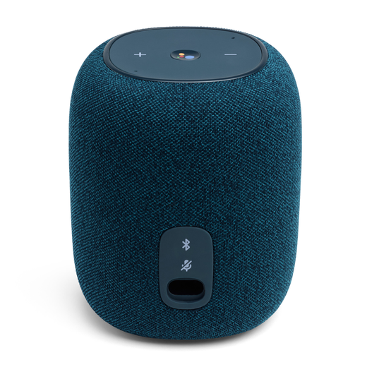 JBL Link Music - Blue - Wi-Fi speaker - Back