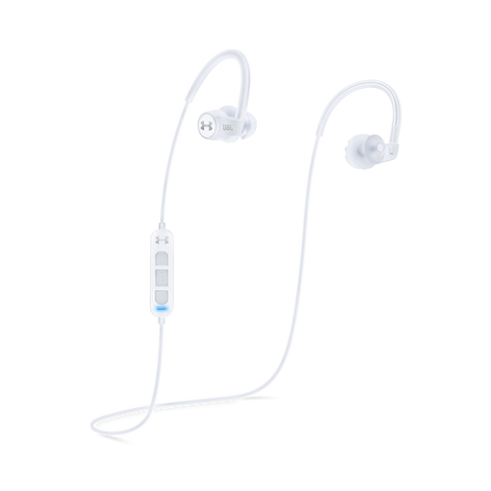 Under Armour Sport Wireless Heart Rate - White - Heart rate monitoring, wireless in-ear headphones for athletes - Detailshot 1
