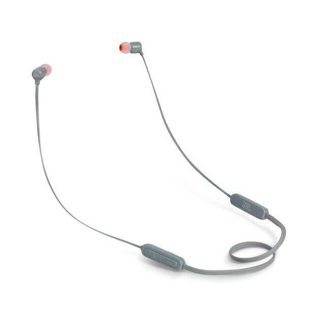 JBL TUNE 160BT - Grey - Wireless in-ear headphones - Hero