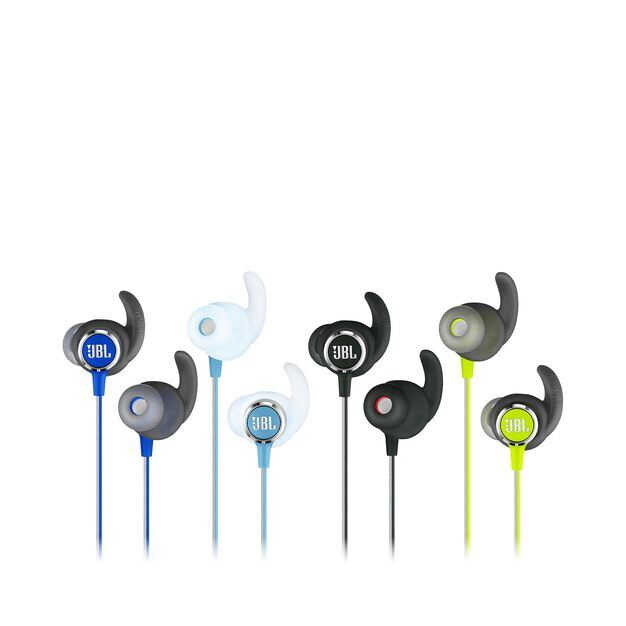 JBL REFLECT MINI 2 - Blue - Lightweight Wireless Sport Headphones - Detailshot 3
