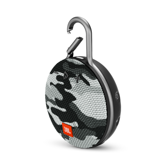 JBL CLIP 3 - Black/White Camouflage - Portable Bluetooth® speaker - Detailshot 3