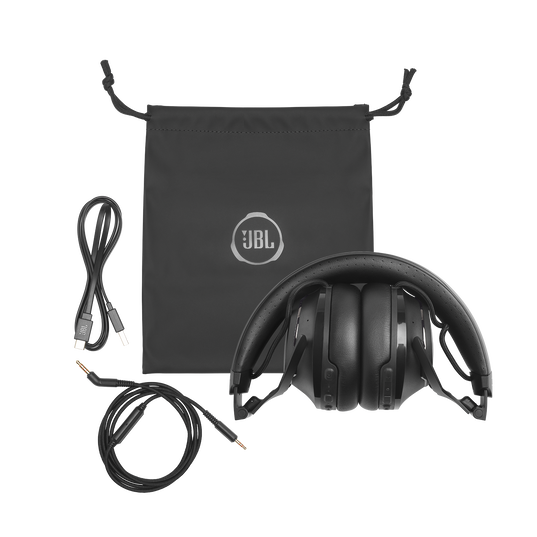 JBL CLUB 700BT - Black - Wireless on-ear headphones - Detailshot 6