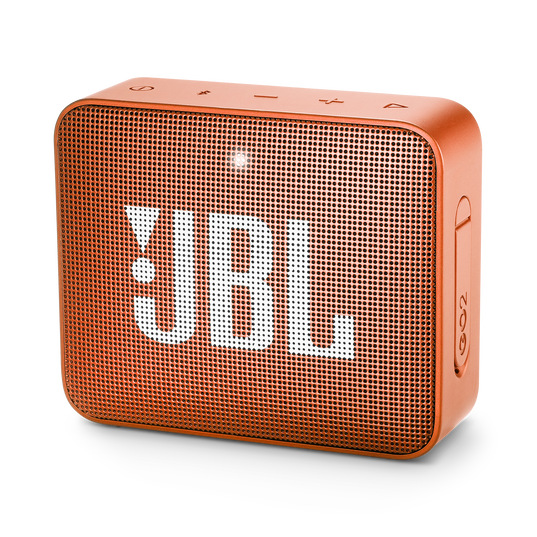 JBL GO 2 - Coral Orange - Portable Bluetooth speaker - Hero