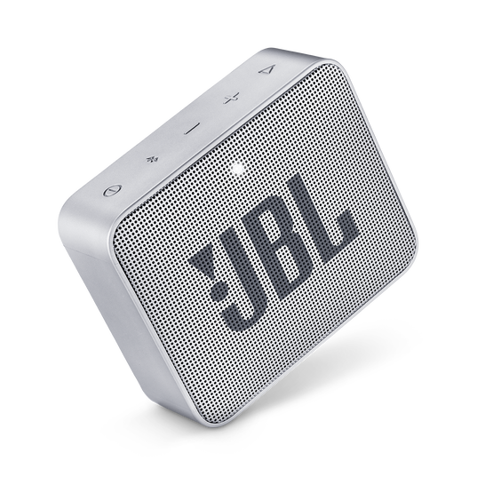 JBL GO 2 - Ash Gray - Portable Bluetooth speaker - Detailshot 2