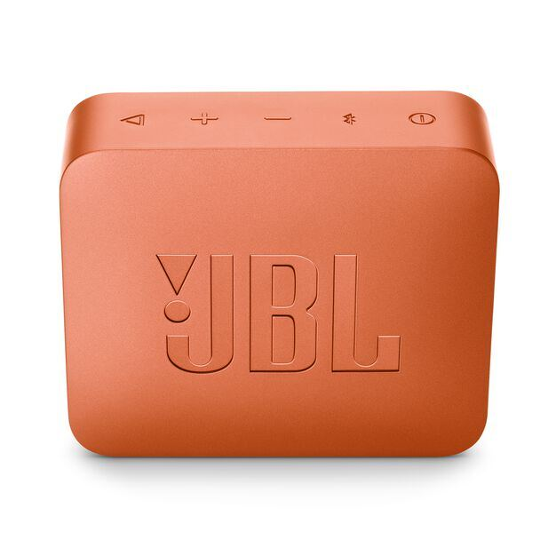 JBL GO 2 - Coral Orange - Portable Bluetooth speaker - Back
