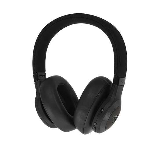 JBL E65BTNC - Black Matte - Wireless over-ear noise-cancelling headphones - Detailshot 15