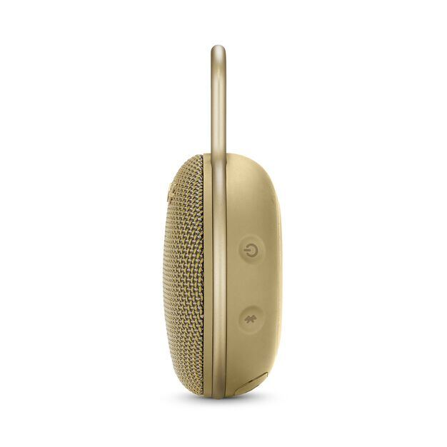 JBL CLIP 3 - Desert Sand - Portable Bluetooth® speaker - Detailshot 2