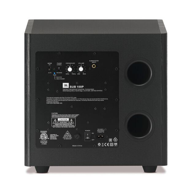 Arena Sub 100P - Black - Back