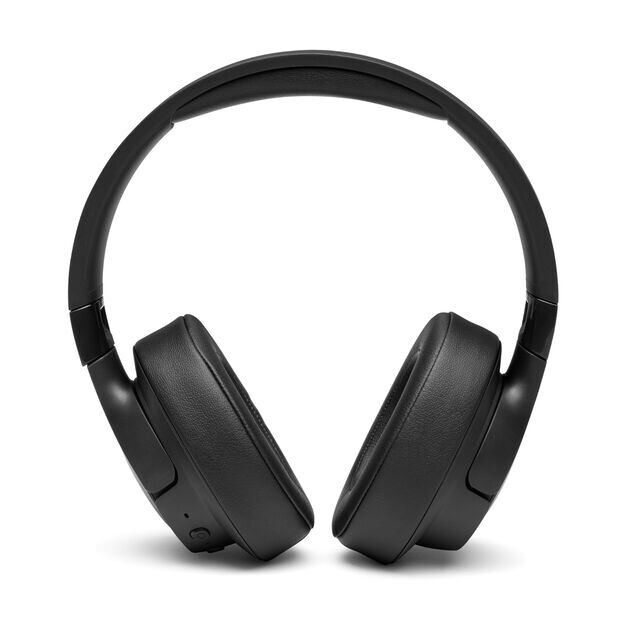 JBL TUNE 750BTNC - Black - Wireless Over-Ear ANC Headphones - Front