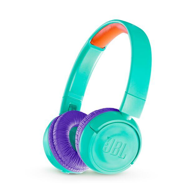 JBL JR300BT - Tropic Teal - Kids Wireless on-ear headphones - Hero