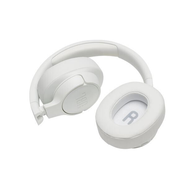 JBL TUNE 700BT - White - Wireless Over-Ear Headphones - Detailshot 2