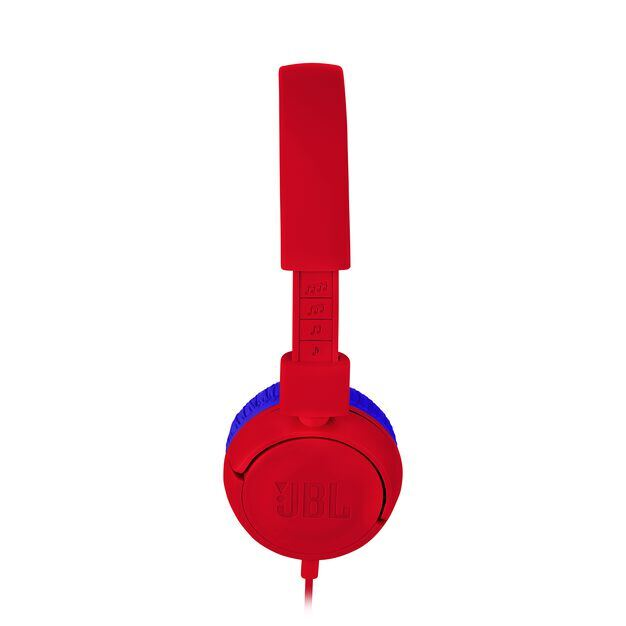 JBL JR300 - Spider Red - Kids on-ear Headphones - Detailshot 2