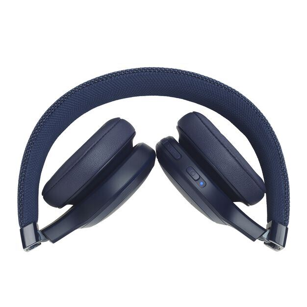 JBL LIVE 400BT - Blue - Your Sound, Unplugged - Detailshot 3