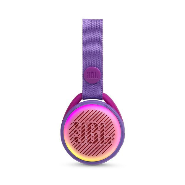 JBL JR POP - Iris Purple - Portable speaker for kids - Front