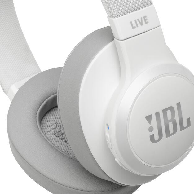 JBL LIVE 500BT - White - Your Sound, Unplugged - Detailshot 3