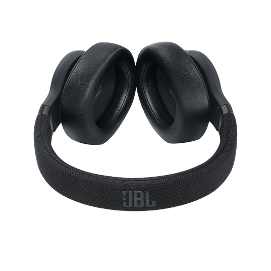 JBL E65BTNC - Black Matte - Wireless over-ear noise-cancelling headphones - Detailshot 1