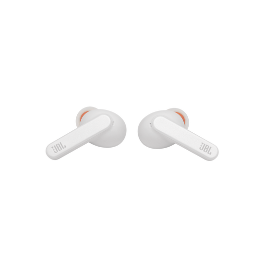 Live Pro+ TWS - White - True Wireless In-Ear NC Headphones - Front