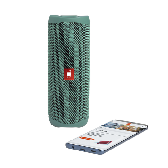 JBL Flip 5 Eco edition - Forest Green - Portable Speaker - Eco edition - Detailshot 1