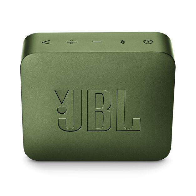 JBL GO 2 - Moss Green - Portable Bluetooth speaker - Back