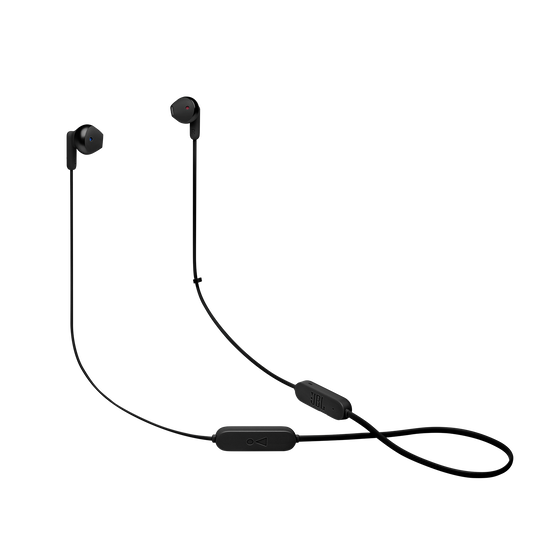 JBL TUNE 215BT - Black - Wireless Earbud headphones - Hero