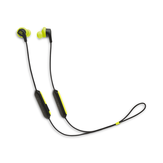 JBL Endurance RUNBT - Green - Sweatproof Wireless In-Ear Sport Headphones - Hero