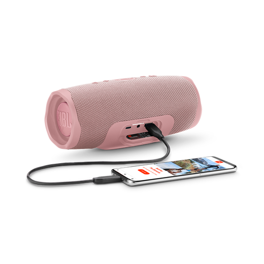 JBL Charge 4 - Pink - Portable Bluetooth speaker - Detailshot 4
