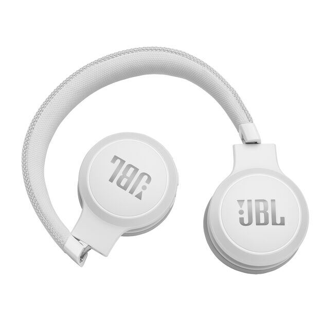 JBL LIVE 400BT - White - Your Sound, Unplugged - Detailshot 2