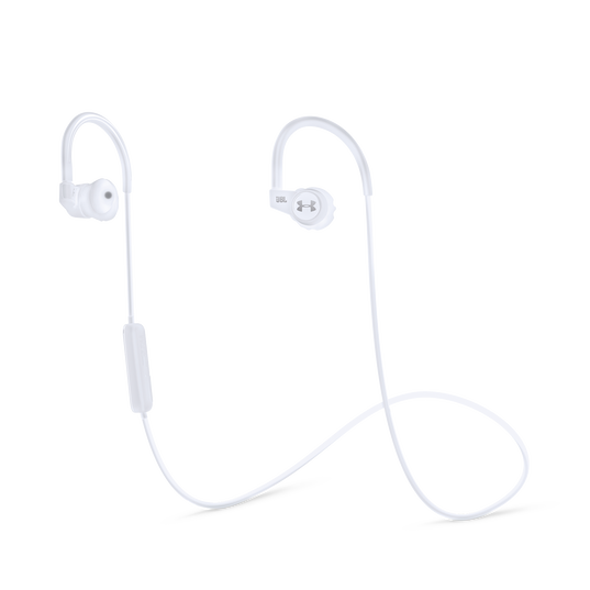 Under Armour Sport Wireless Heart Rate - White - Heart rate monitoring, wireless in-ear headphones for athletes - Hero
