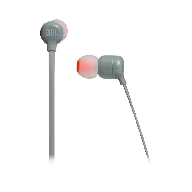 JBL TUNE 160BT - Grey - Wireless in-ear headphones - Detailshot 3