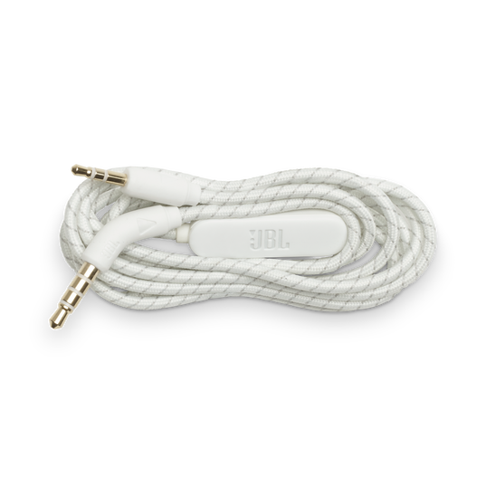 JBL Audio cable for Live 400/500BT - White - Audio cable - Hero