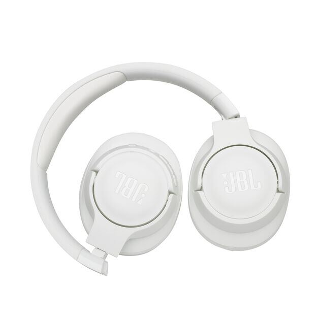 JBL TUNE 700BT - White - Wireless Over-Ear Headphones - Detailshot 3
