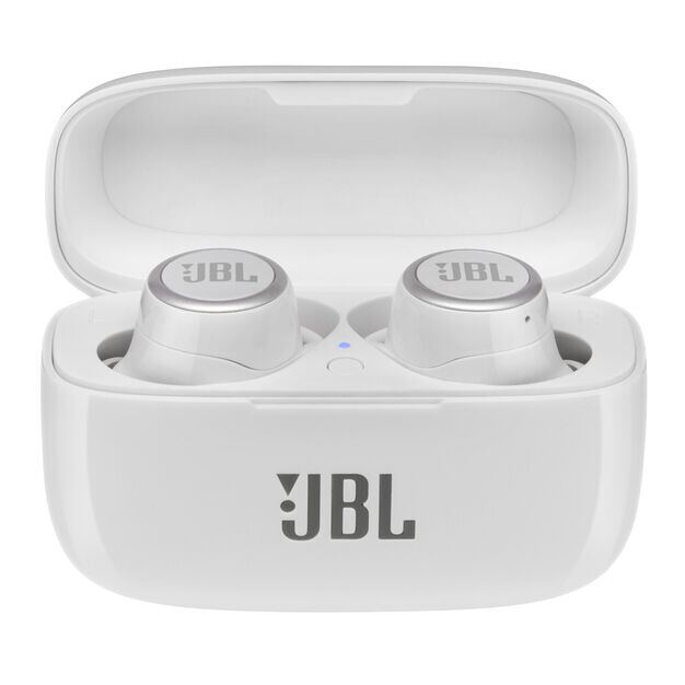 JBL LIVE 300TWS - White Gloss - True wireless in-ear headphones with Smart Ambient - Detailshot 3