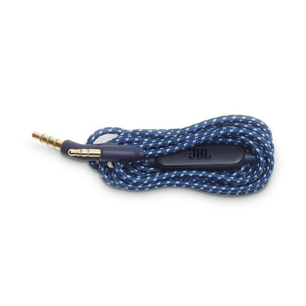 JBL Audio cable for Live 400/500BT - Blue - Audio cable - Hero