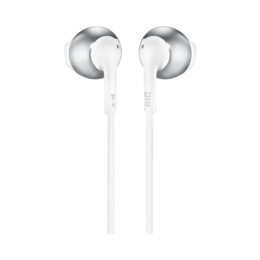 JBL TUNE 205 - Chrome - Earbud headphones - Back