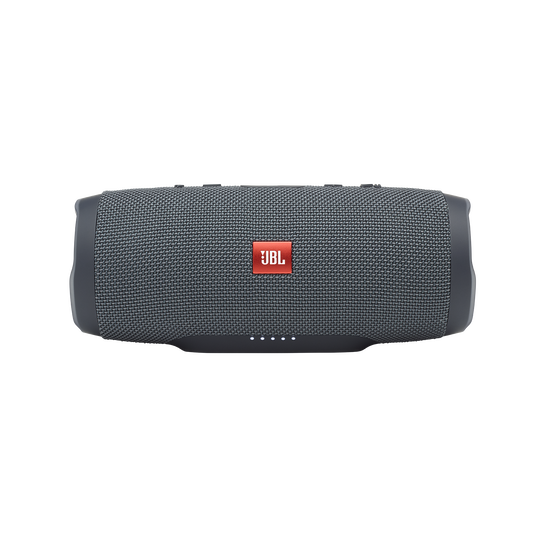 JBL Charge Essential - Gun Metal - Portable waterproof speaker - Front