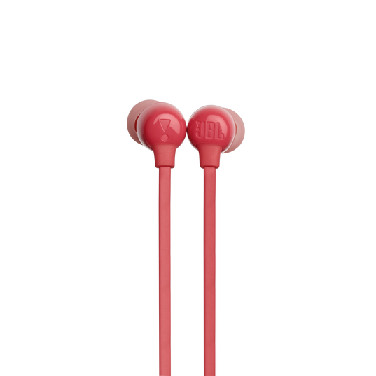 JBL TUNE 115BT - Coral Orange - Wireless In-Ear headphones - Detailshot 1