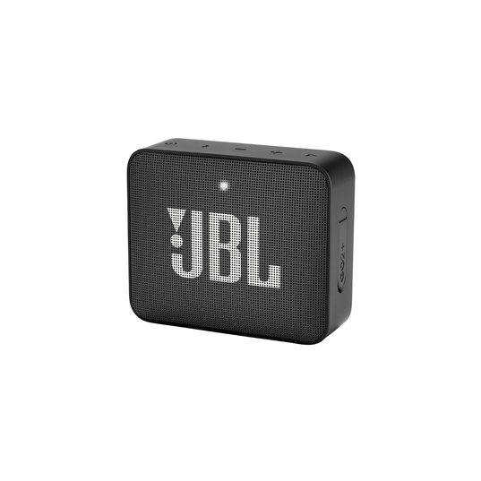 JBL GO2+ - Black - Portable Bluetooth speaker - Hero