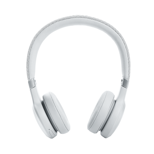 JBL Live 460NC - White - WIRELESS ON-EAR NC HEADPHONES - Front