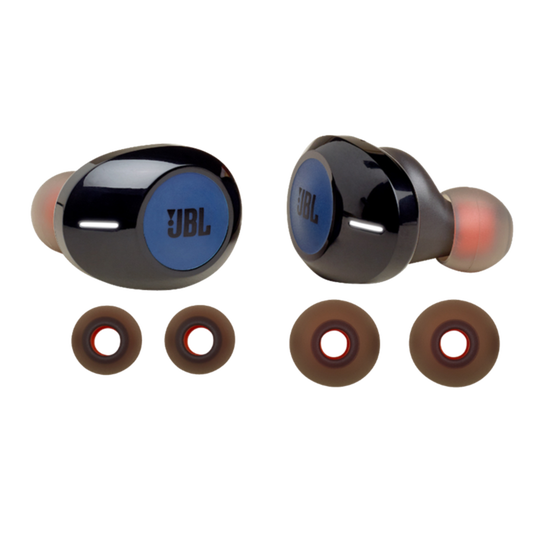 JBL TUNE 120TWS replacement kit - Blue - Ear buds and ear tips - Hero