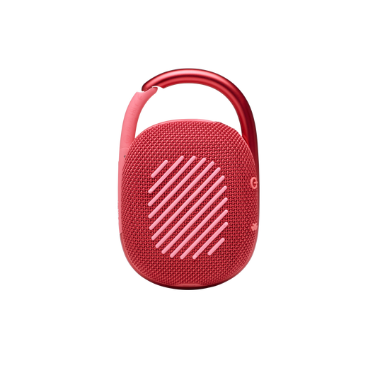 JBL CLIP 4 - Red - Ultra-portable Waterproof Speaker - Back