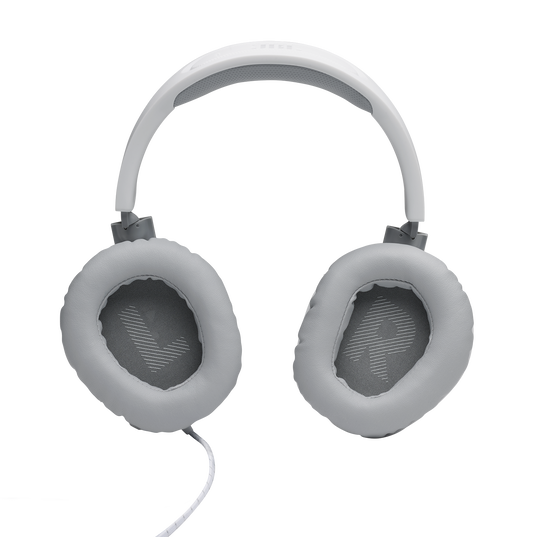 JBL Quantum 100 - White - Wired over-ear gaming headset with a detachable mic - Detailshot 3