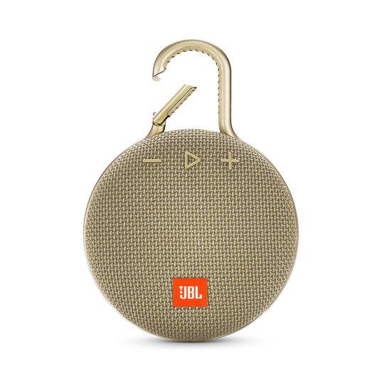JBL CLIP 3 - Desert Sand - Portable Bluetooth® speaker - Front