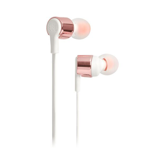 JBL TUNE 210 - Rose Gold - In-ear headphones - Hero