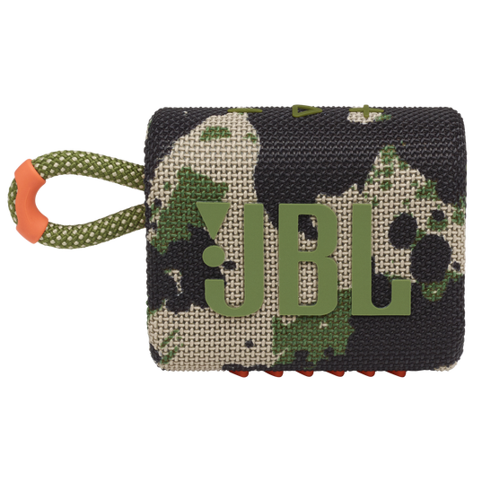 JBL GO 3 - Squad - Portable Waterproof Speaker - Front