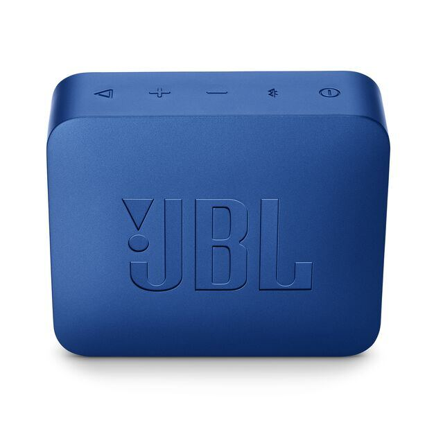 JBL GO 2 - Deep Sea Blue - Portable Bluetooth speaker - Back