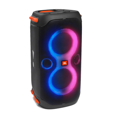 Start a party with powerful sound and a dynamic light show