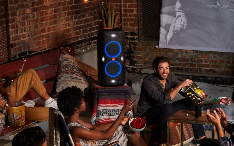 Incredible JBL Sound with a Dazzling Light Show