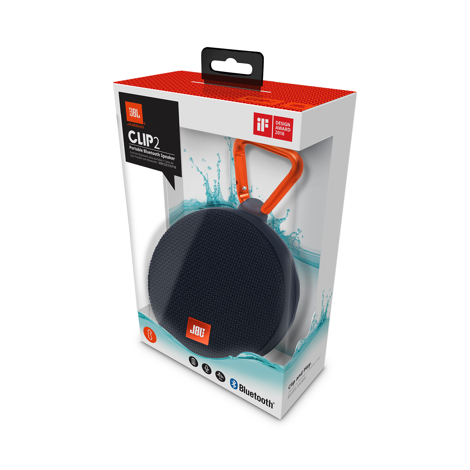 Jbl charge 2 | portable wireless stereo speaker with massive.