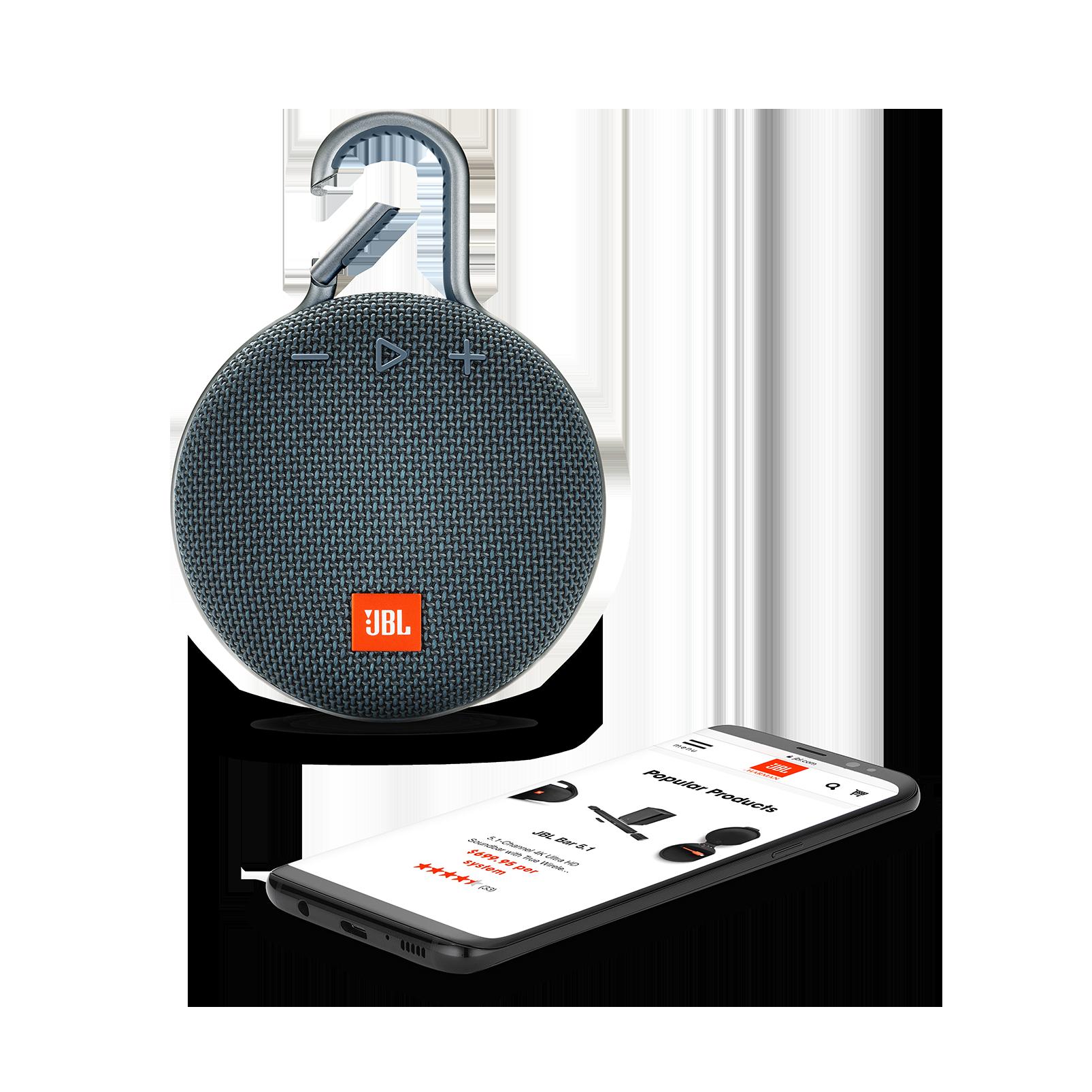 jbl waterproof bluetooth speaker clip