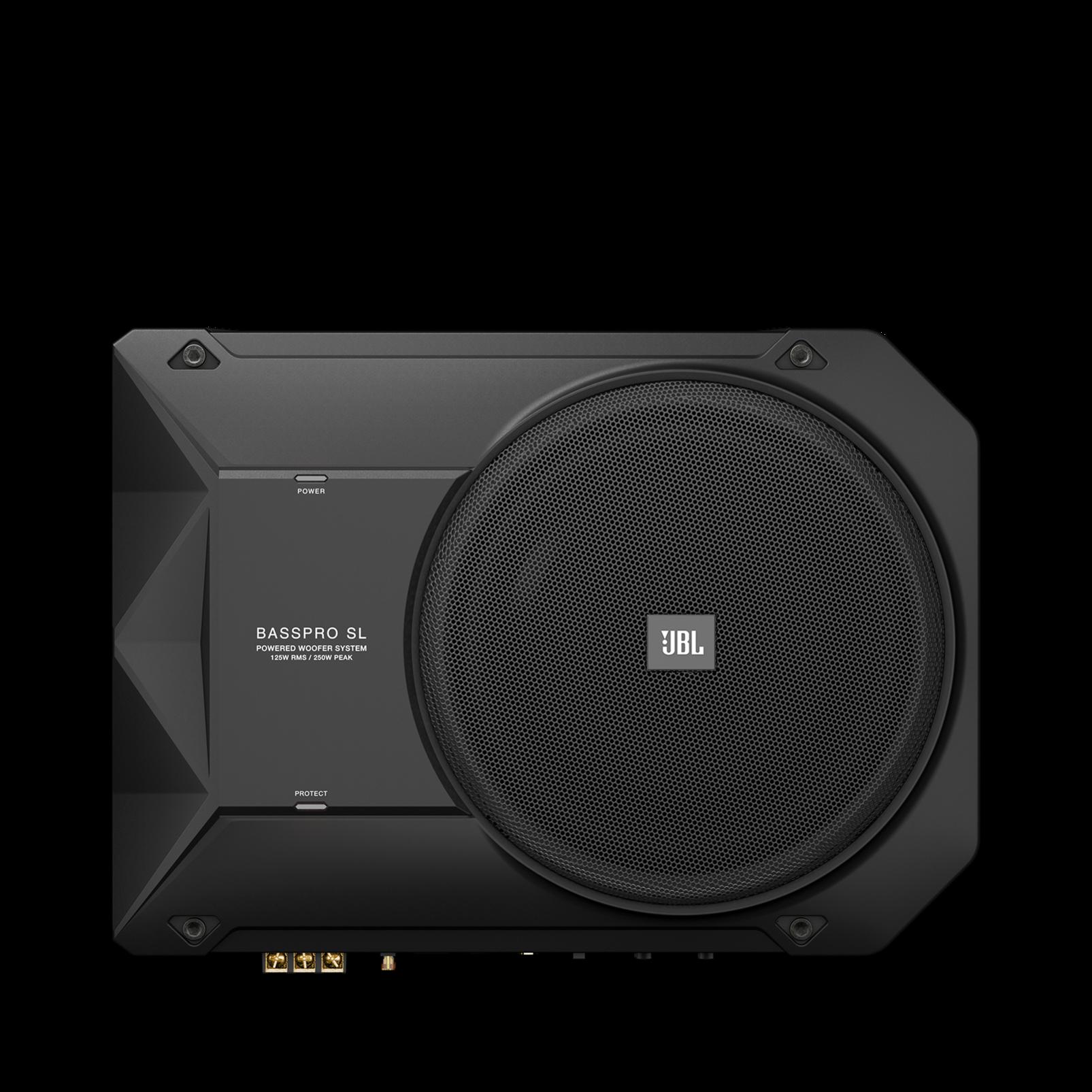 Basspro Sl Powered 8 Quot 200mm Car Audio Under Seat